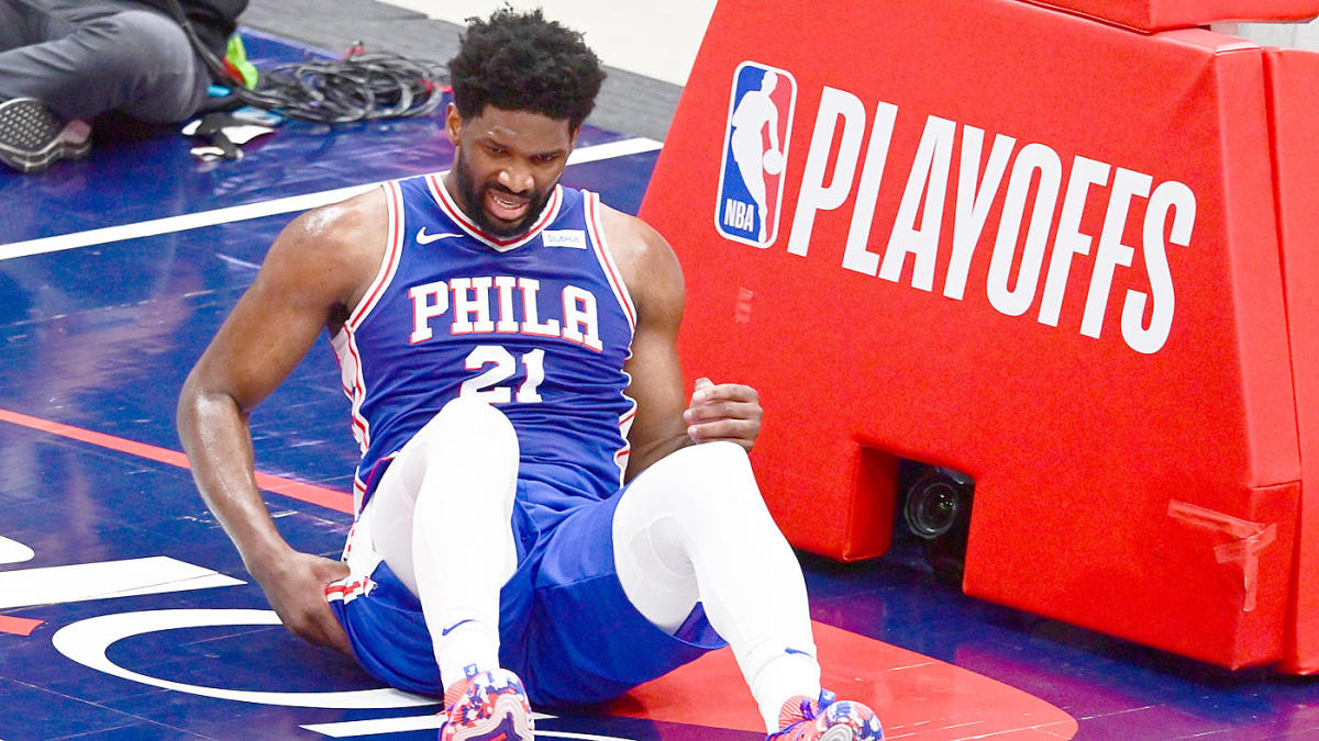 Joel Embiid injury update: 76ers star doubtful for Game 5 vs. Wizards with right knee soreness per report – CBS Sports