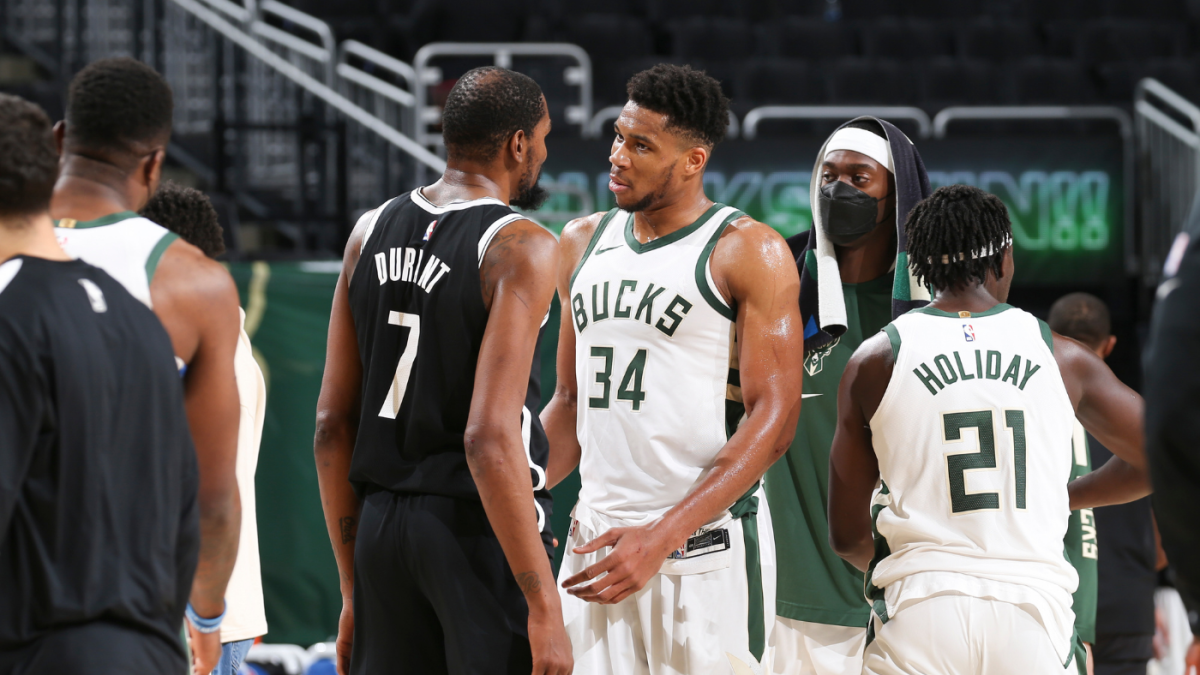 Nets vs. Bucks playoff preview: Brooklyn's defense, added pressure on  Milwaukee among biggest storylines - CBSSports.com