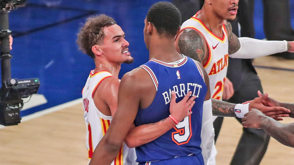 Hawks-Knicks: Trae Young eliminates New York with a bow joins Michael Jordan in Madison Square Garden lore – CBS Sports