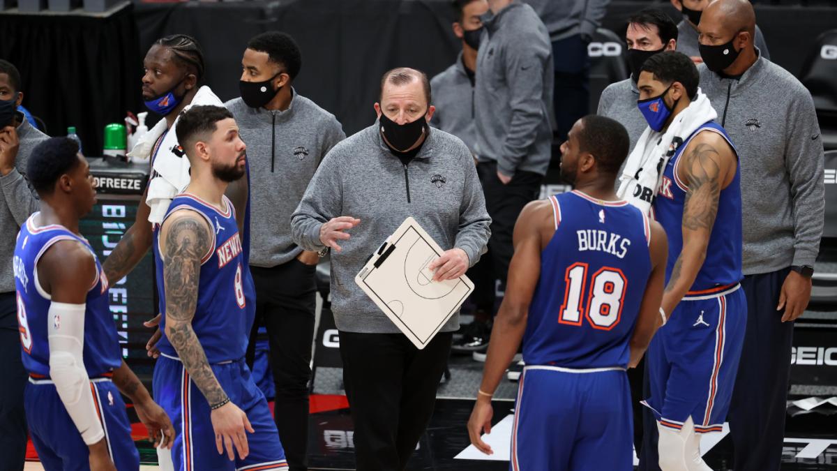 Knicks' Tom Thibodeau named 2020-21 NBA Coach of the Year