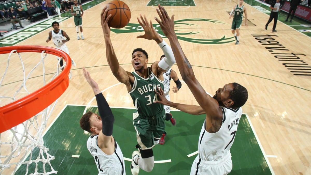 Nets vs. Bucks score takeaways: Giannis Antetokounmpo Milwaukee pick up big win over Brooklyn in Game 3 – CBSSports.com