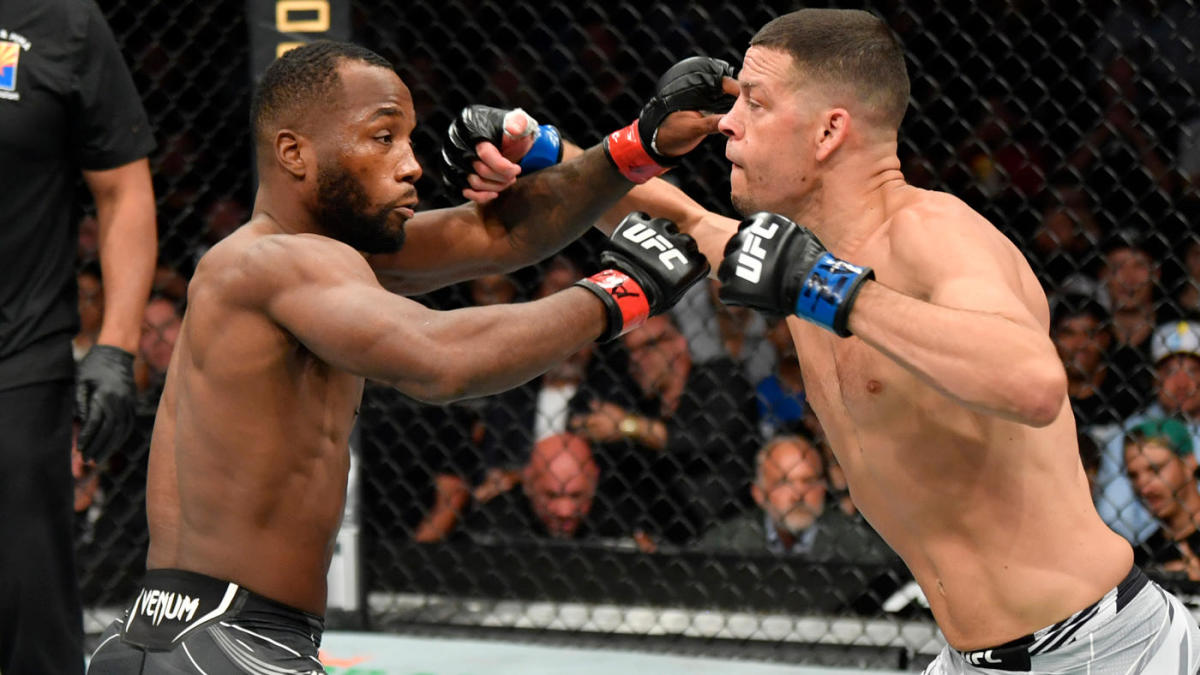 UFC 263 results, highlights: Nate Diaz comes up short in bout with Leon Edwards despite late rally