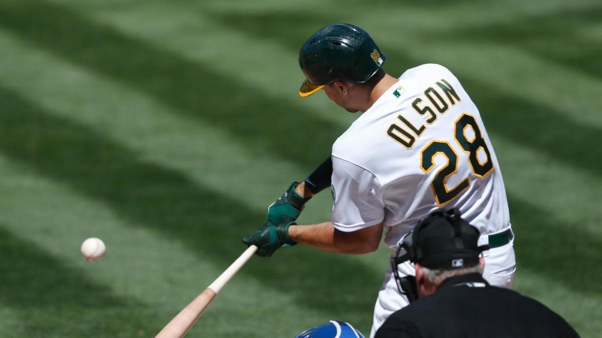 MLB trends: Matt Olson slashes strikeout rate; Andrew Benintendi rediscovers power stroke
