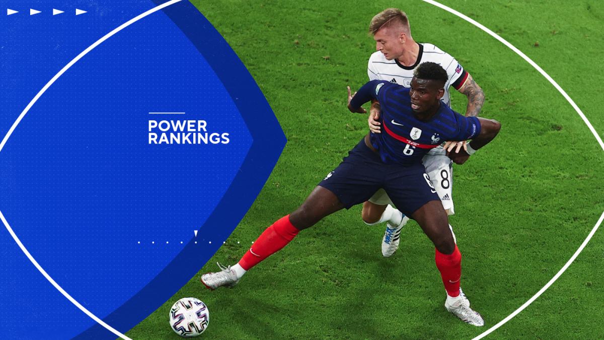 Power Rankings de la UEFA Euro 2020: Francia e Italia lideran el camino después de la primera ronda de partidos