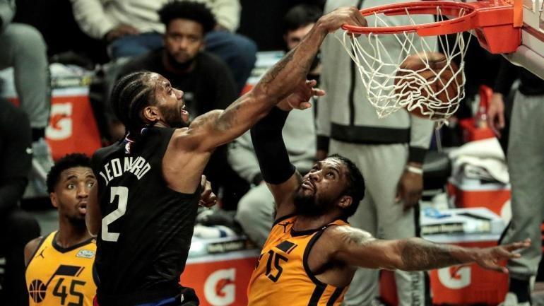 Kawhi Leonard Clippers Derrick Favors
