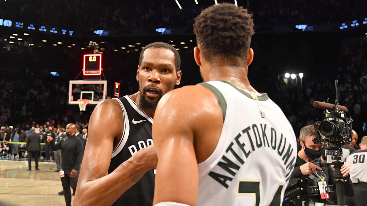 Bucks-Nets: Giannis Antetokounmpo says Kevin Durant is 'the best player in the world' after Game 7 showdown – CBS Sports