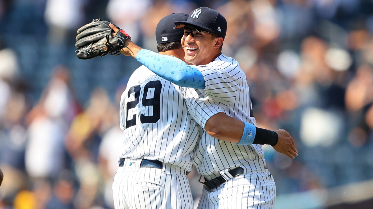 Yankees turn game-ending triple play vs. A's and make MLB history in the process – CBS Sports