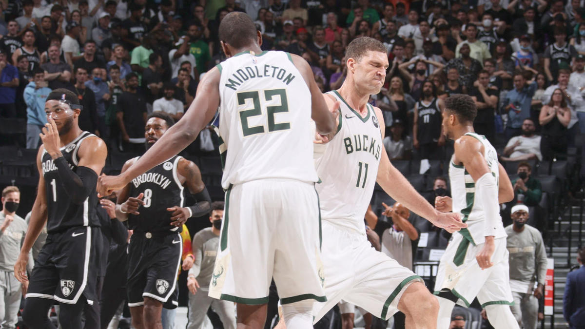 Bucks-Nets score, takeaways: Milwaukee survives Kevin Durant's record night in Game 7, advances to East finals - CBSSports.com