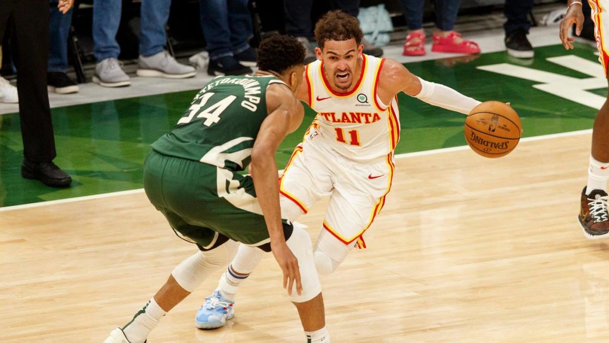 2021 NBA Playoffs: Bucks vs. Hawks odds, line, picks, Game 2 predictions from model on 100-66 roll - CBSSports.com