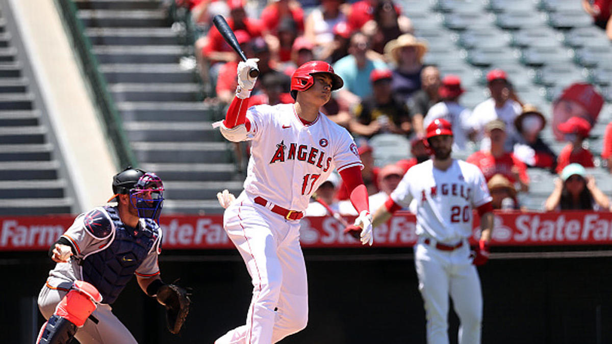 Shohei Ohtani makes history, hits prodigious homer as Angels walk off the sweep