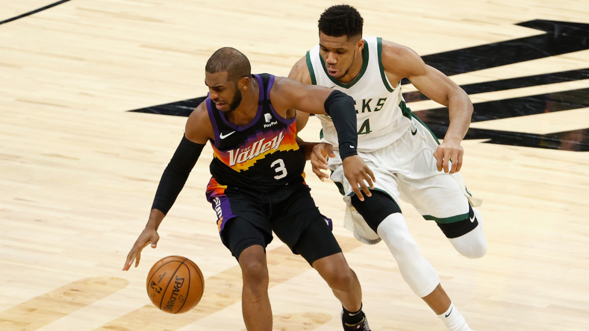 Suns-Bucks NBA Finals preview: Chris Paul's legacy, Giannis Antetokounmpo's  health and long title droughts - CBSSports.com