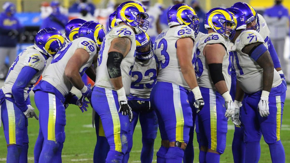Según los informes, los Rams presentarán nuevos uniformes blancos alternativos en 2021, ya que el receptor novato puede haber filtrado noticias.