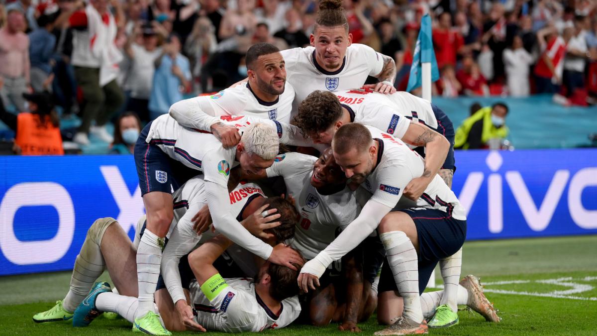 England vs. Denmark score: Harry Kane's rebound goal sends Three Lions to first Euro final