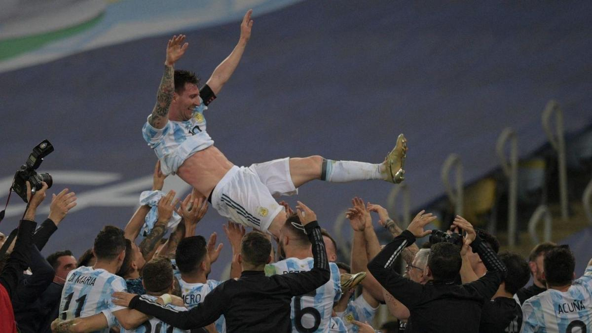 Argentina vs. Brazil, Copa America final 2021 score: Messi achieves international glory for first time