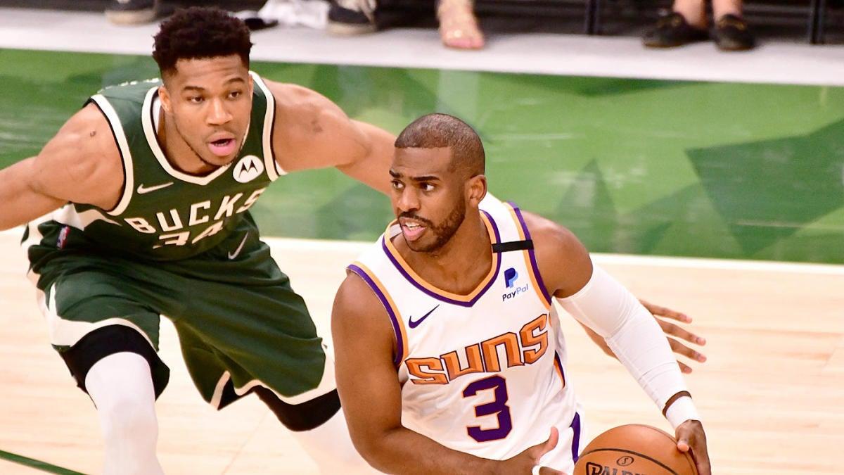 Probabilidades de Bucks vs Suns, línea, mejores apuestas: selecciones de las Finales de la NBA de 2021, predicciones del juego 4 de un experto en la carrera 61-33