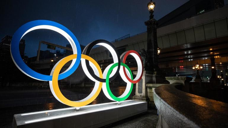 2020 2021 Tokyo Summer Olympic Rings Olympics Games