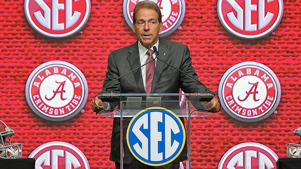 2021 SEC Media Days takeaways: Nick Saban takes center stage, coaches  advocate for CFP expansion - CBSSports.com