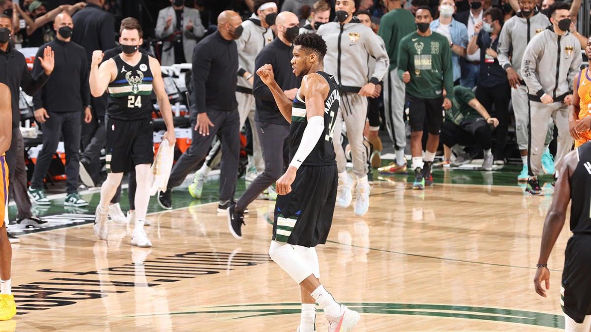 Milwaukee Bucks win first NBA championship since 1971 thanks to Giannis Antetokounmpo's legendary MVP showing - CBSSports.com