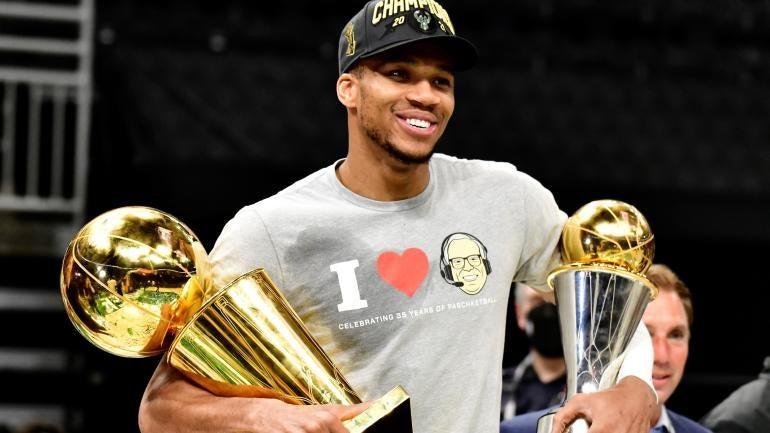 Giannia Antetokounmpo Milwaukee Bucks 2021 NBA Championship
