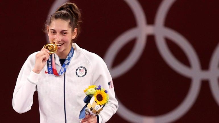 American woman wins gold in Taekwondo