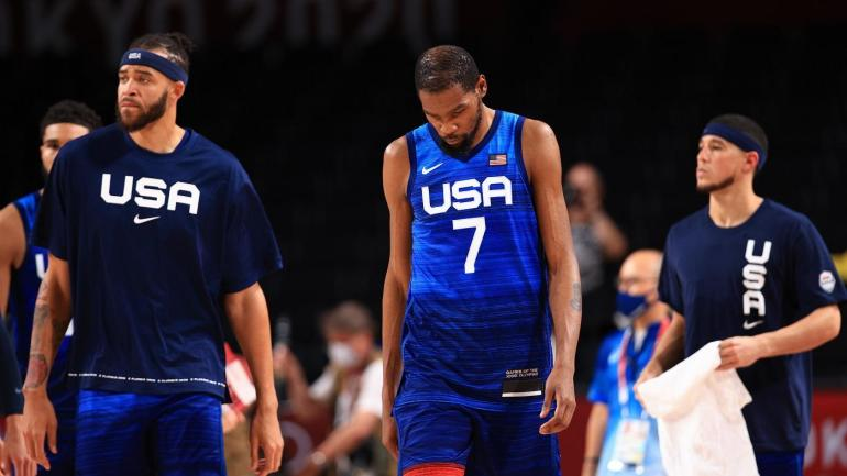 Kevin Durant Team USA Basketball Pérdida Francia