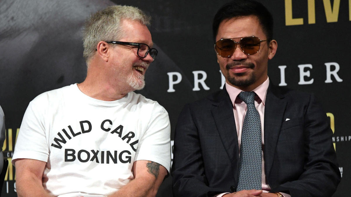 Freddie Roach: Keith Thurman is better than Errol Spence, fast start key for Manny Pacquiao in title bout