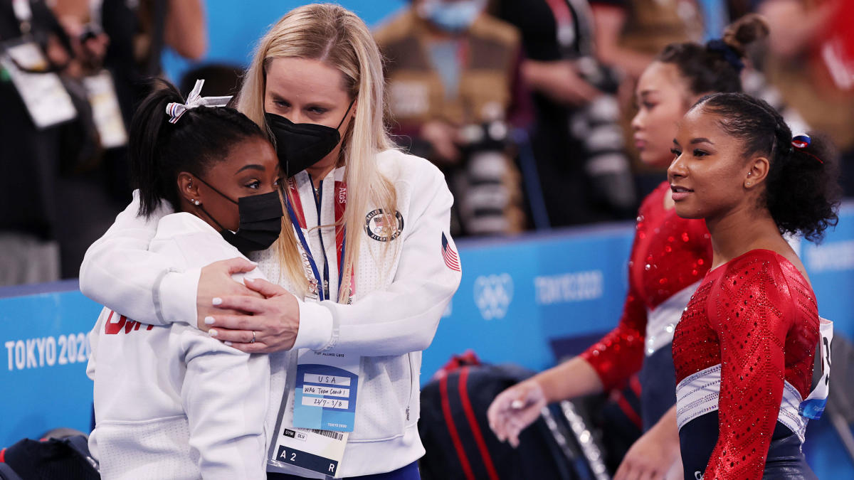 2020 Tokyo Olympics women's gymnastics: U.S., without Simone Biles, takes silver, ROC wins gold in team final