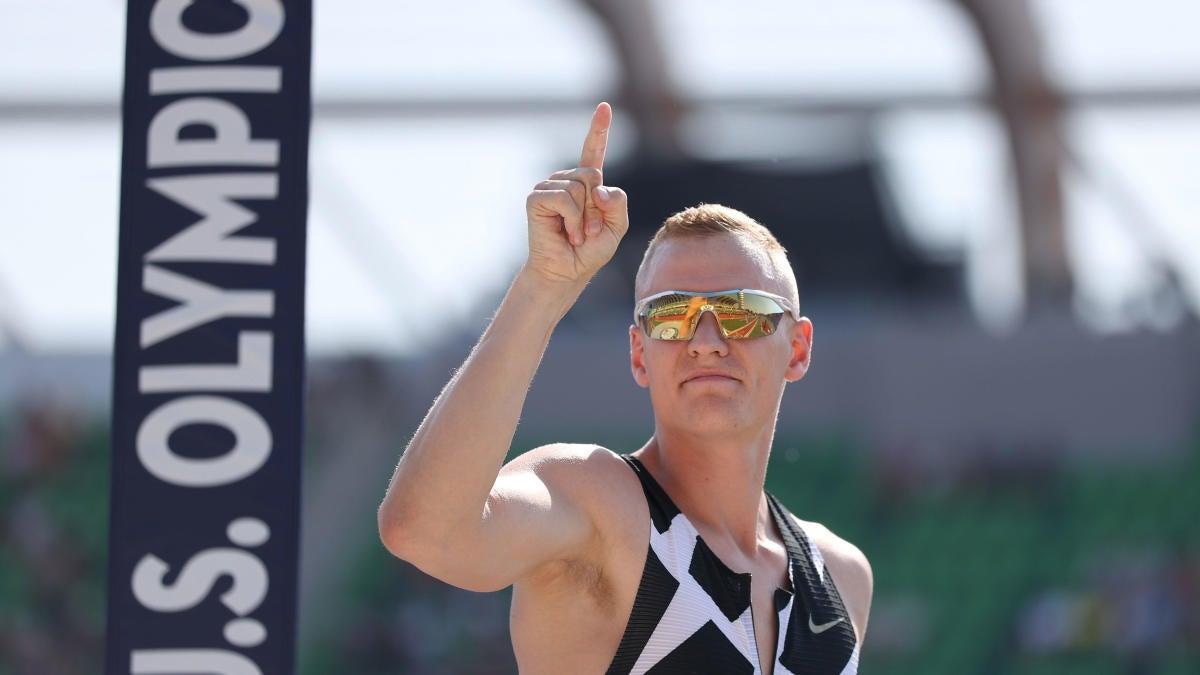 Rastreador COVID-19 de los Juegos Olímpicos 2020: Sam Kendricks, saltador con pértiga estadounidense, fuera de los Juegos después de dar positivo
