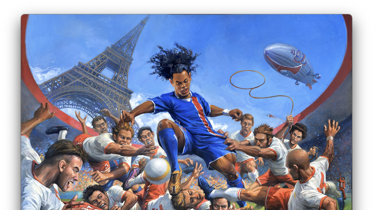 Brazil icon Ronaldinho launches line of digital collectables