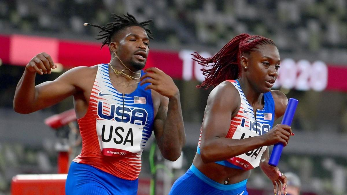 2020 Tokyo Olympics: U.S. mixed relay team reinstated after initially being disqualified over baton exchange