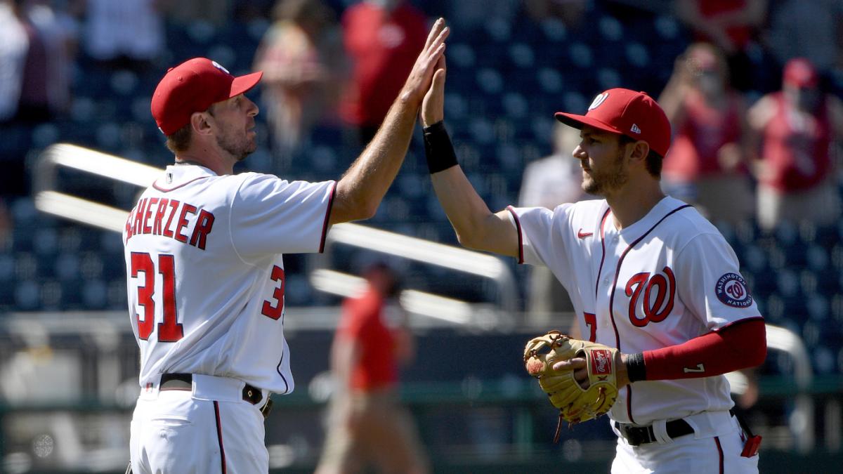 Max Scherzer trade: Dodgers finalizing blockbuster deal for Nationals ace and Trea Turner