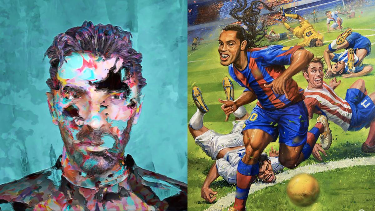 Italy legend Gianluigi Buffon and Brazil legend Ronaldinho launch groundbreaking NFT collaborations