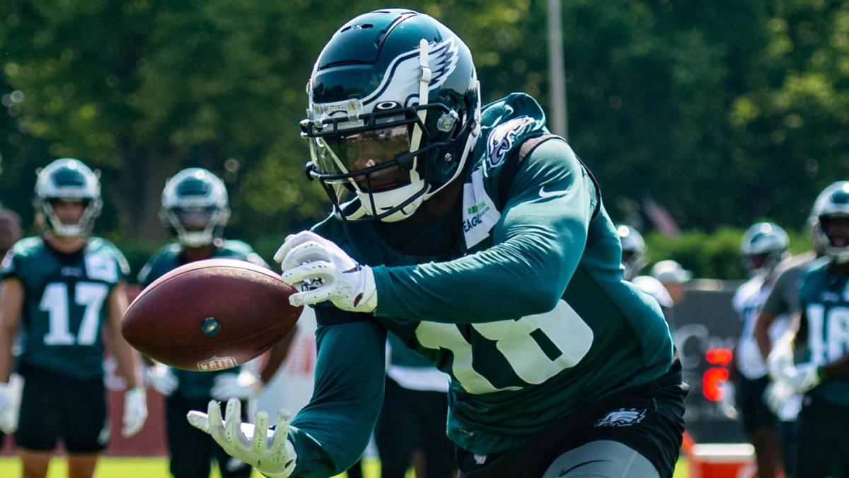 Jalen Reagor has strong day at Eagles camp after practice lecture from Nick Sirianni - CBS Sports