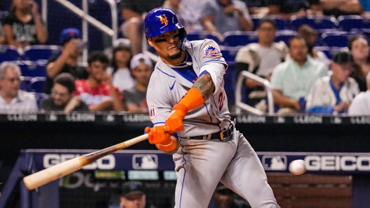 Javier Báez se poncha cinco veces mientras el líder de la División Este de la Liga Nacional de los Mets recibe otro golpe con derrota ante los Marlins