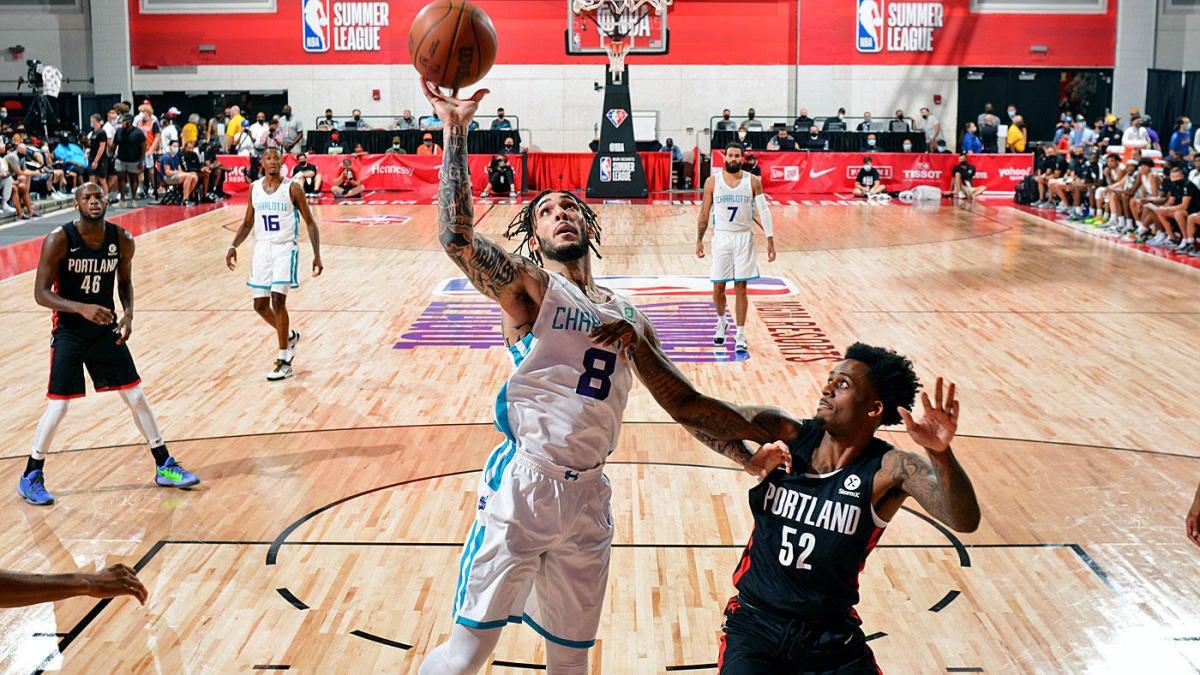 NBA Summer League: LiAngelo Ball anota cinco triples para los Hornets en una sólida actuación de debut