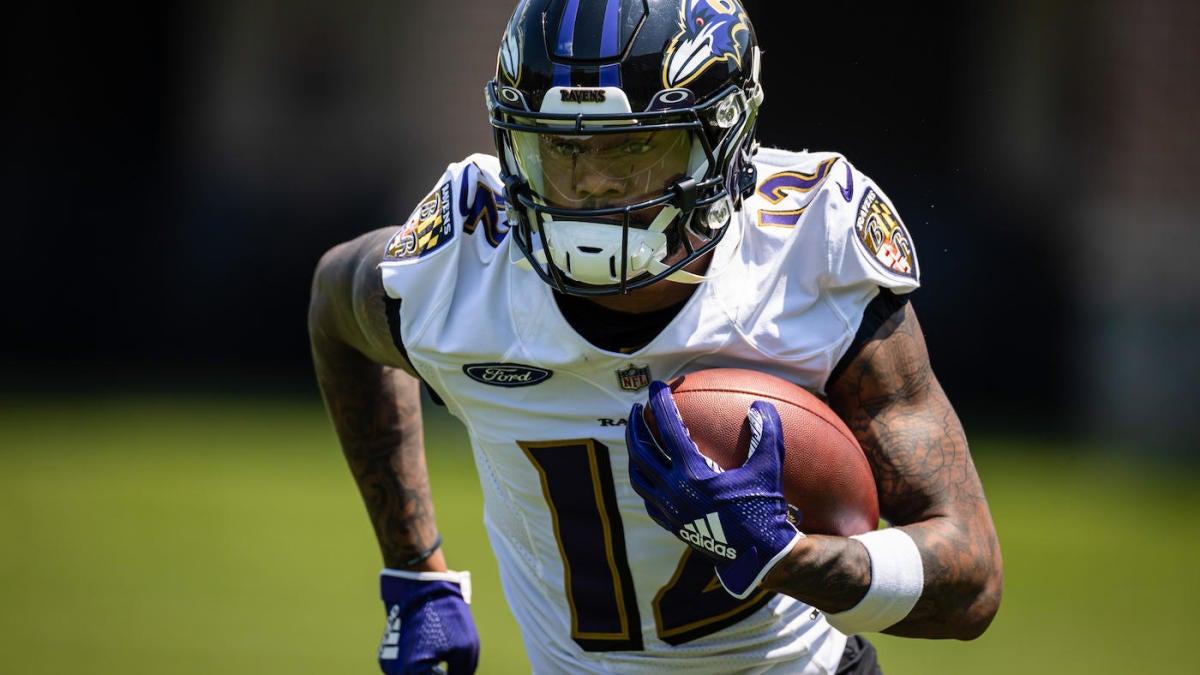 Ravens first-round pick Rashod Bateman week to week with groin injury, per report
