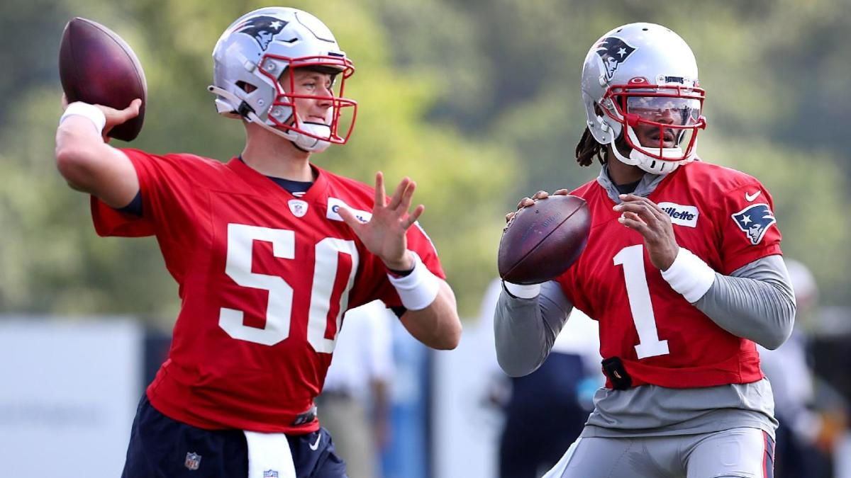 Inside Bill Belichick's decision in Patriots QB battle, plus analytics-based AFC, NFC North projections - CBS Sports