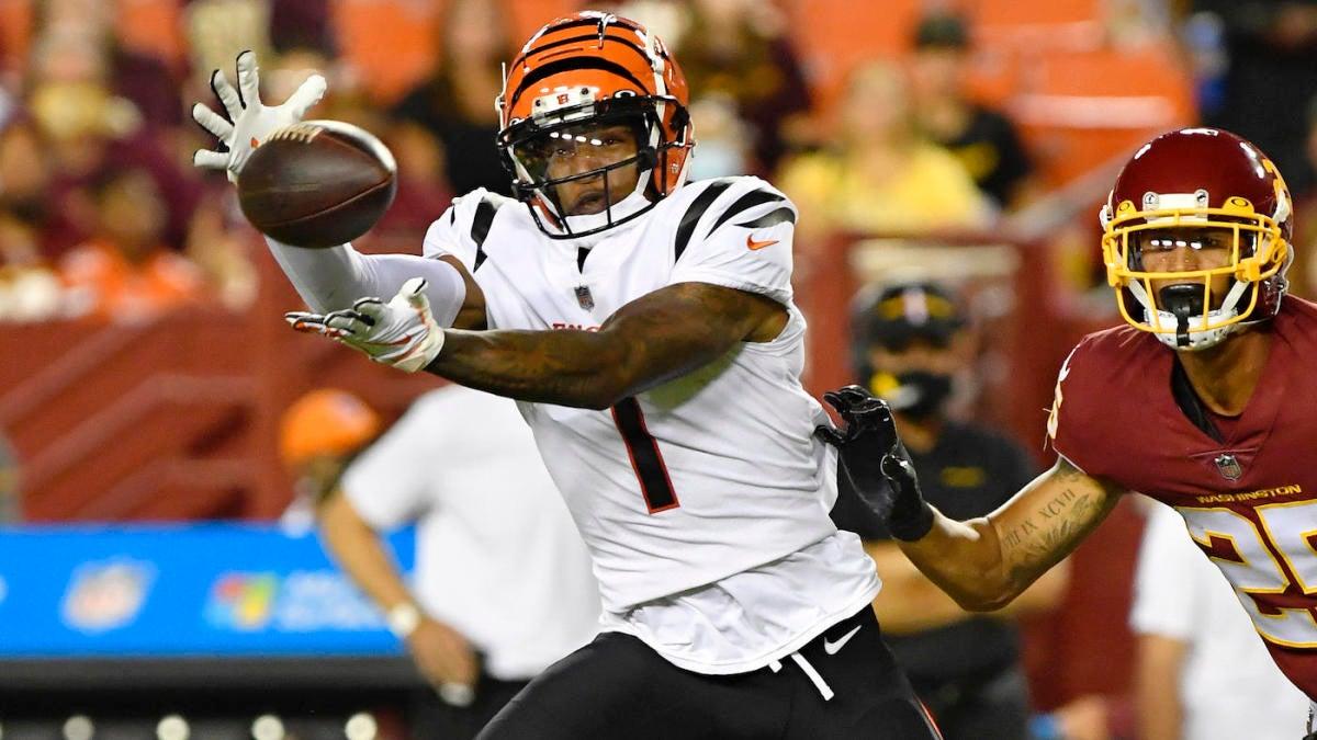 Ja'Marr Chase de los Bengals lucha en la derrota de pretemporada, Zac Taylor 'seguirá buscando mejoras'