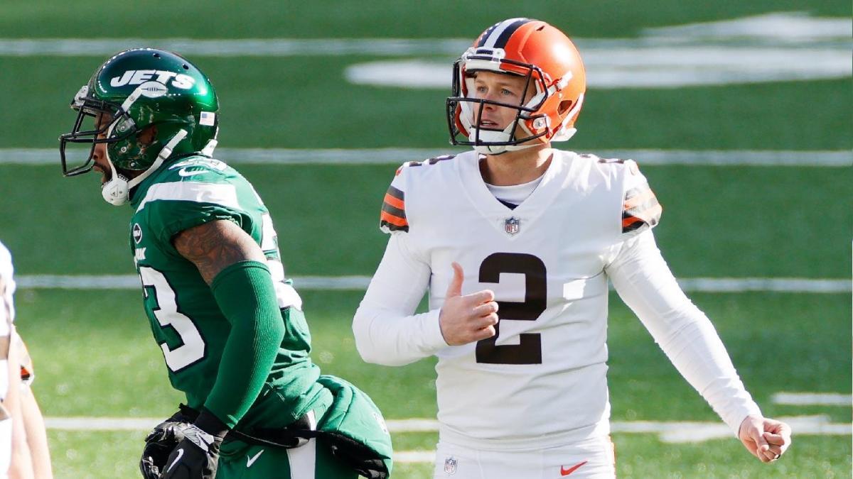Browns colocan al ex pateador de Pro Bowl Cody Parkey (cuádruple) en la lista de reservas lesionados