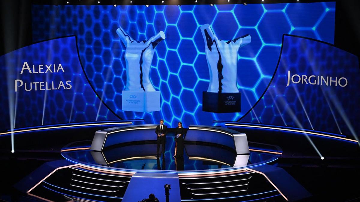 Premios de la UEFA: la estrella del Chelsea Jorginho y Alexia Putellas del Barcelona se llevan los honores de Jugador del Año