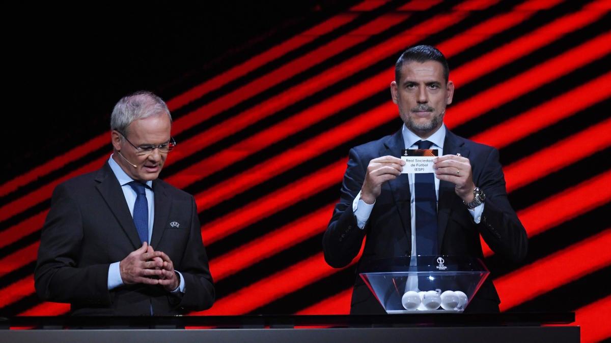 Resultados del sorteo de la Europa League: Napoli, Leicester encabezan el Grupo C;  Leverkusen, Celtic y Betis se enfrentan en el Grupo G