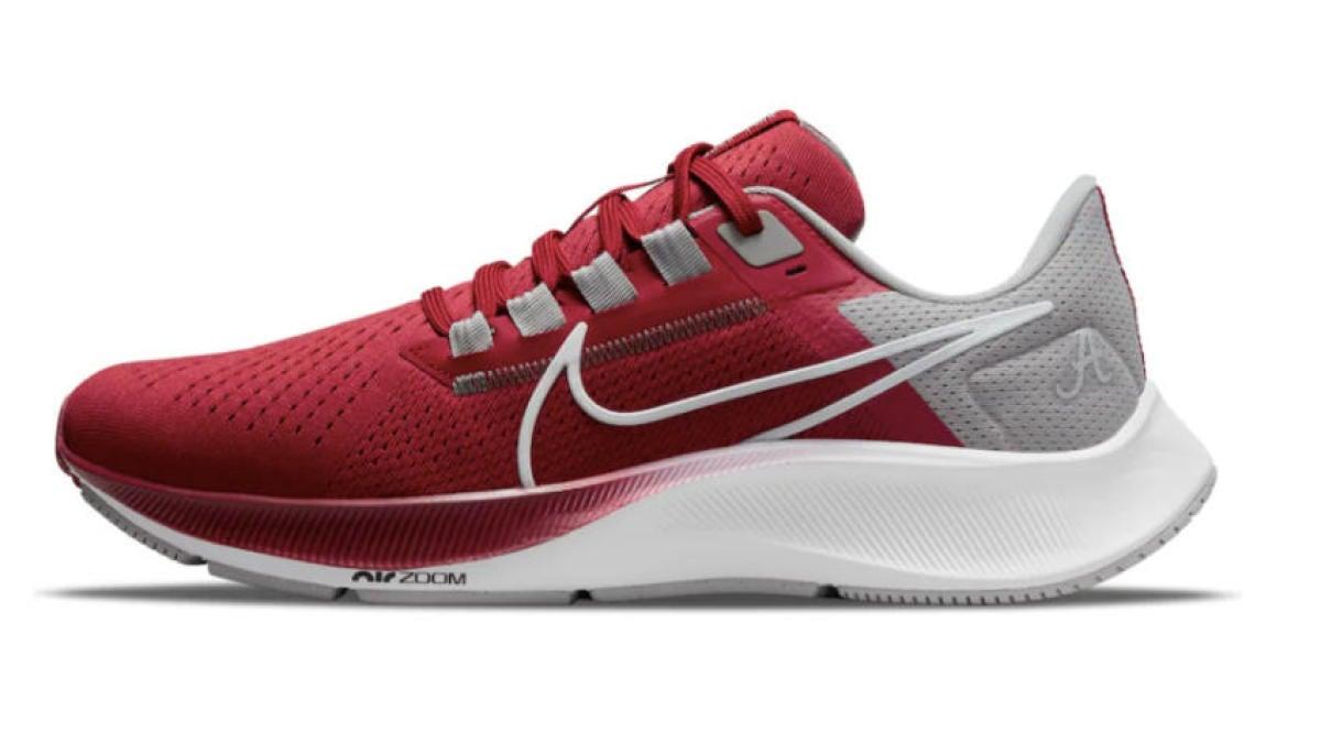 Zapatillas Nike Zoom Pegasus 38 ahora disponibles: zapatos para Alabama, Ohio State, Clemson y más