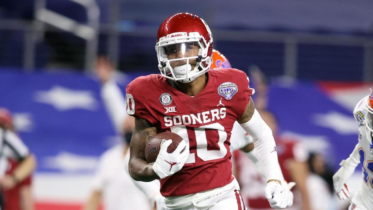 Oklahoma star WR Theo Wease to miss first half of the season with lower-body injury – CBS Sports