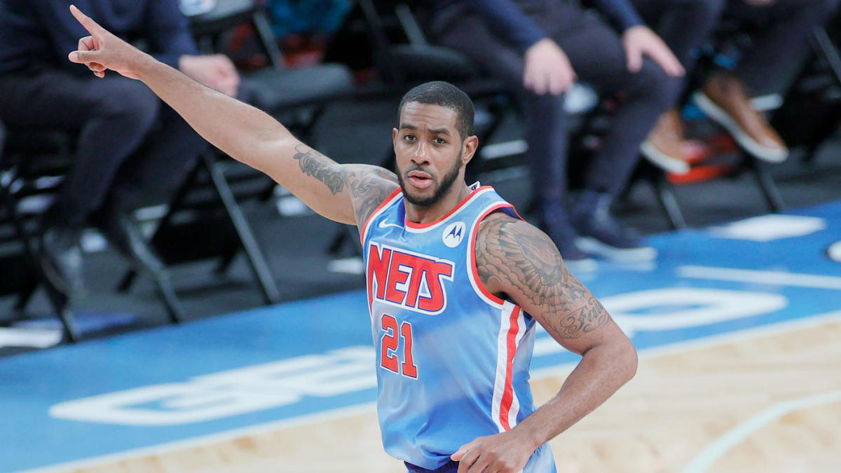 LaMarcus Aldridge signs one-year, $2.6 million deal with Nets after being  cleared to return to NBA - CBSSports.com