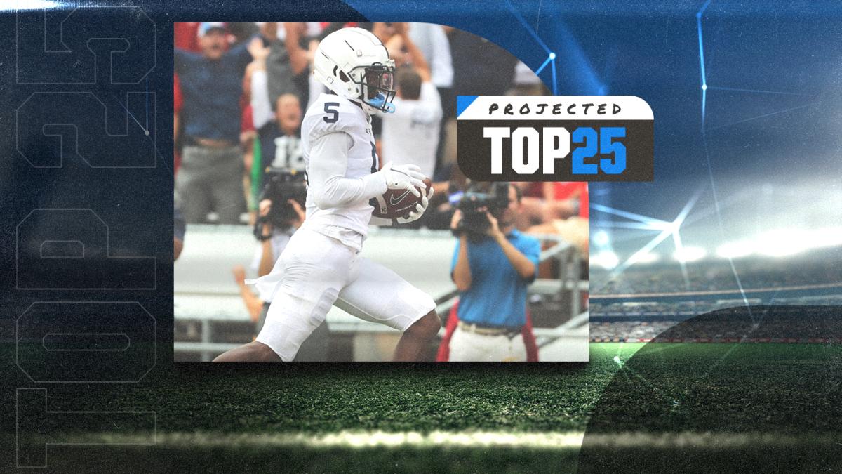 Los 25 mejores del mañana de hoy: Georgia, Penn State ascienden mientras Carolina del Norte cae en las nuevas clasificaciones de fútbol americano universitario