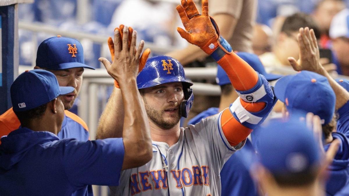 Pete Alonso de los Mets se convierte en el segundo jugador más rápido en la historia de la MLB con 100 jonrones