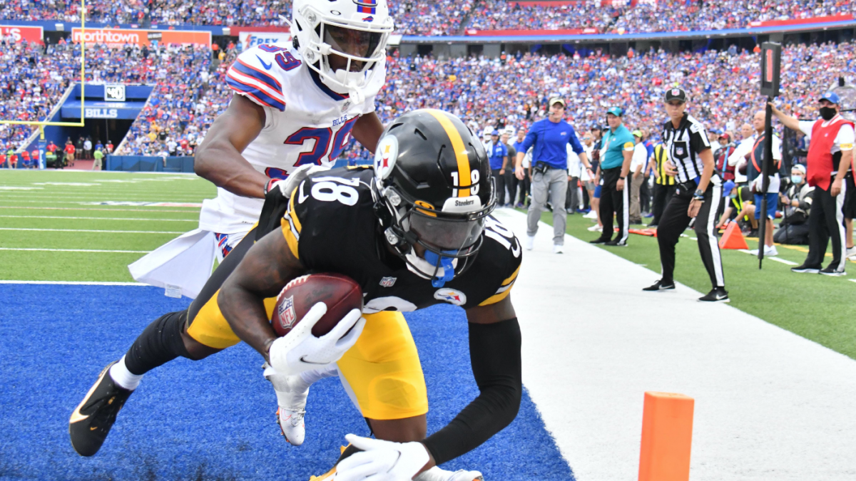 Steelers stock up, stock down following Week 1 win over Bills: Diontae Johnson soars, offensive line struggles