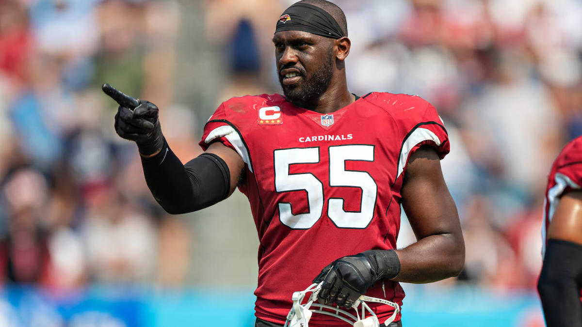 Cardinals' Chandler Jones placed on reserve/COVID-19 list, putting status for Week 6 vs. Browns in jeopardy