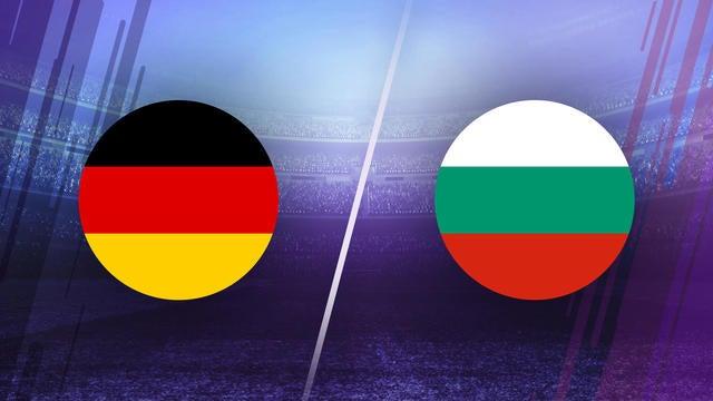 Germany vs Bulgaria