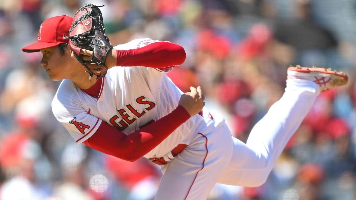 Shohei Ohtani returns to mound after arm soreness and dominates but Angels come up short vs. A's